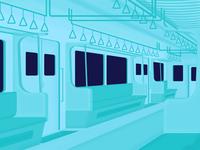 Commuter Line Interior