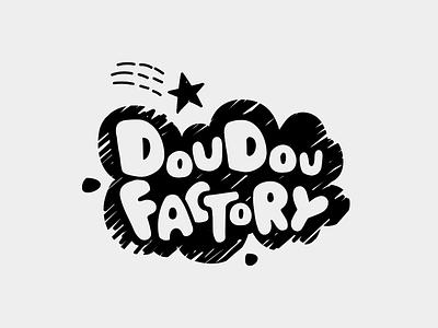 Doudou Factory Logo kids logo logo design kids clothes  accessories