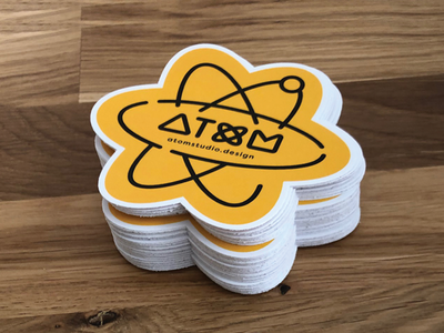 Atom Stickers Image