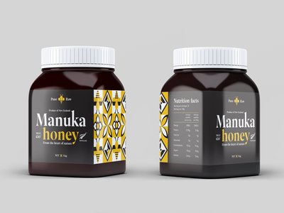 Manuka Honey Label Design