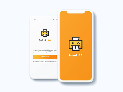 snimiki24 - Logo Icon App Proposal mobile application icon design app icon logo design mobile app icon app icon design logodesign