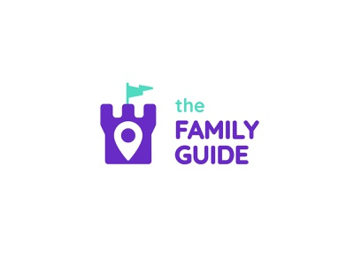 TheFamily Guide parents kids logo design logodesign