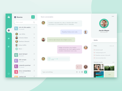 Dailyui 013 - Direct Messaging app messaging interface dashboard chat app voice chat uidesign ui  ux adobe xd dailyuichallenge dailyui013 dailyui direct message communication conversation
