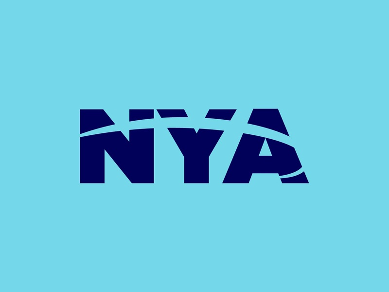 New York Air nyc travel airline icon typography 100dayproject logo branding illustrator adobe illustrator adobe illustration design