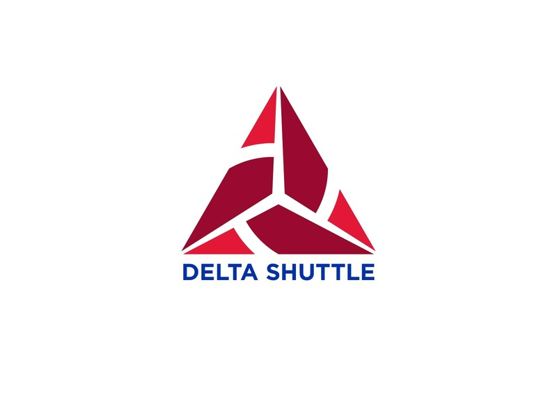 Delta Shuttle delta travel airlines icon typography 100dayproject logo branding illustrator adobe illustrator adobe illustration design