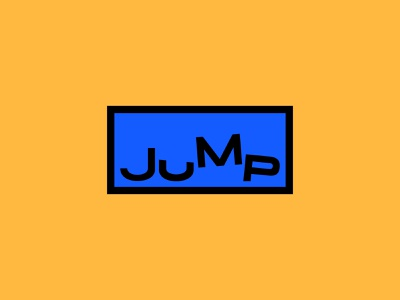 Jump bicycle bike scooter electric jump icon typography 100dayproject logo branding illustrator adobe illustrator adobe illustration design