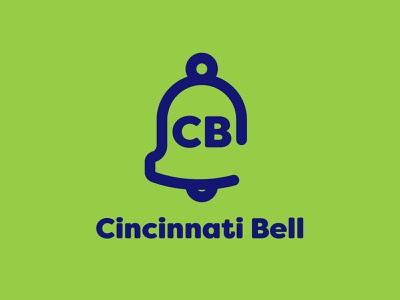 Cincinnati Bell internet mobile telecommunications telephone cincinnati bell icon typography 100dayproject logo branding illustrator adobe illustrator adobe illustration design