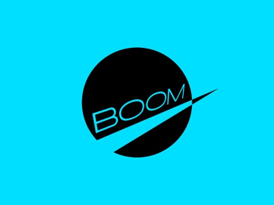 Boom plane mach supersonic sonic boom icon typography 100dayproject logo branding illustrator adobe illustrator adobe illustration design