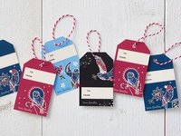 Vera Bradley downloadable gift tags