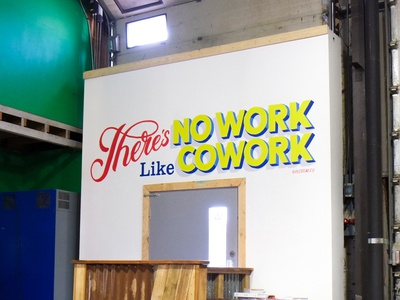 Nook Mural Finished Images surface pro murals mural handlettering lettering typography