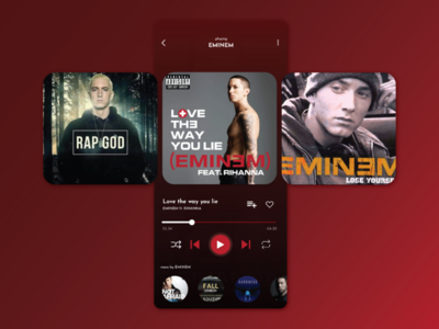 Daily UI 009 - Music Player music player day009 user interface ui daily ui