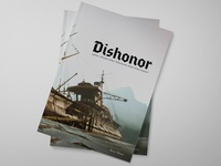 Dishonor Photo Book games gaming video games photo book layout print photography book design typography graphic design