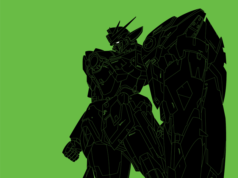 Wing Zero wing zero gundam wing gundam vector graphic illustration design graphic design