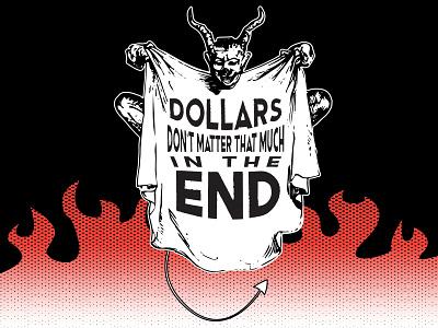Dollar Dollar! fun typography vector graphic illustration design graphic design