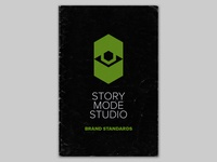 Story Mode Studio Brand branding design brand layout logo identity branding typography vector graphic design graphic design