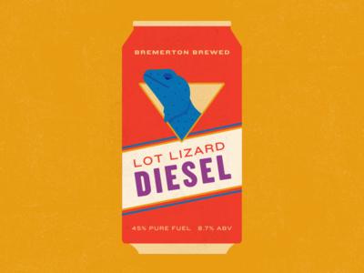 Lot Lizard Diesel Beer