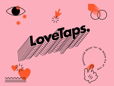 Lovetaps icons love art internet podcast