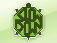 Turtle Sticker Octagon