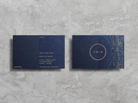 Holm Business Cards