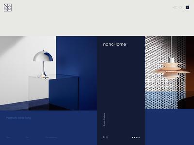 nanoHome website