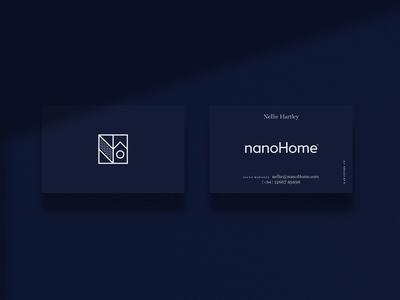 nanoHome business cards