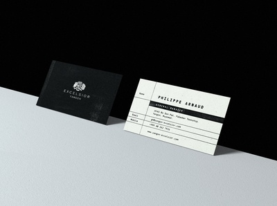 Excelsior Yangon Business Cards