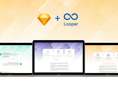 Looper website header structures structure website header plugin looper sketch