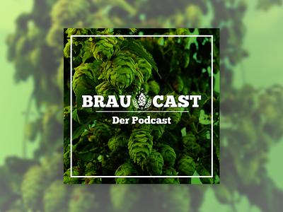 Braucast Podcast Logo cover logo beer podcast