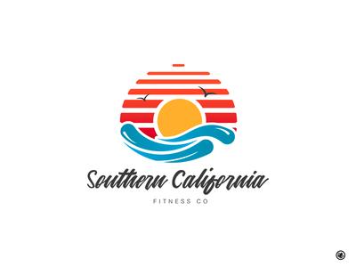 Southern California Fitness Logo