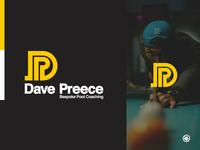 Dave Preece Bespoke Pool Coaching Logo Design