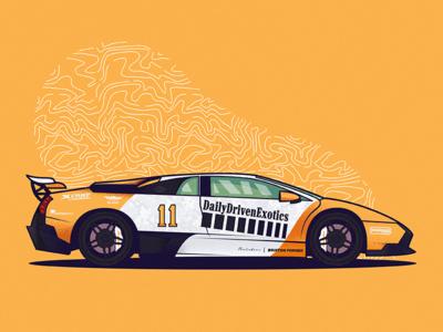 DDE Lamborghini Murcielago Gated LP640