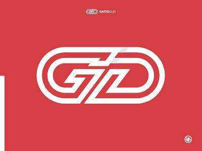 Gated Duo mark monogram icon brand typography logodesigner logomarks identity thick lines logomark brand mark adobe adobe illustrator vector logo design illustration branding illustrator design logo