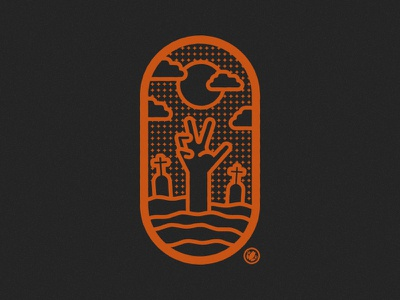 Happy Halloween Dribbble logodesigner icon thick lines adobe logo design vector illustration logo illustrator design