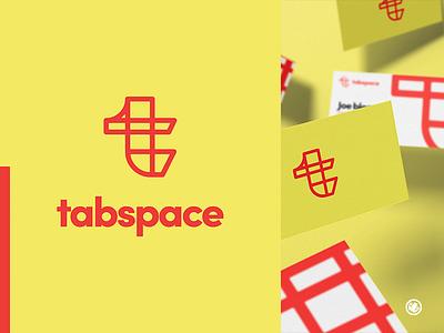 Tabspace logodesigner logomark brand mark logo design illustration illustrator thick lines adobe illustrator branding logo