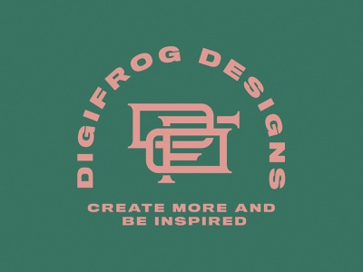 DFD Mongram vector design branding design monogram design monogram logo monogram badge logo designer merch patch design badge logo badge design thick lines adobe illustrator logo design vector illustration design logo illustrator