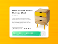 Daily UI - 032 Crowdfunding Campaign