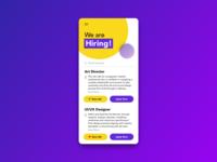 Daily UI - 050 Job Listing