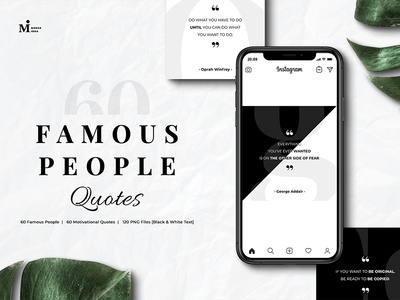 Famous People Quotes Instagram classic black  white black transparent design quote positive inspiration social media png jpg motivation instagram popular personal people famous quotes