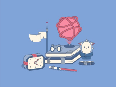 Hello Dribbble! first shot firstshot hellodribbble hello dribble star wars starwars vector illustration