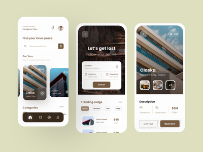 Hotel Booking Concept Design uiux interface app ux figma design ui
