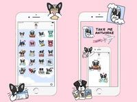 iOS Stickers for Yeah Bunny
