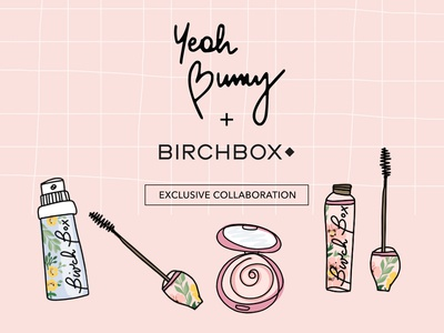 Exclusive collaboration. Yeah Bunny x BIRCHBOX