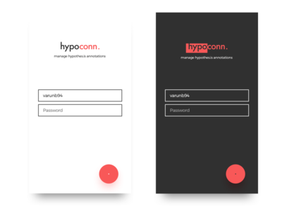 Hypoconn Login Page
