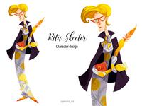 Rita Skeeter character design