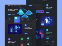 Crypto Payments Landing Page Desktop Alt menu header crypto design cryptocurrency fintech finance crypto trading home page neomorfism dark ui dark mode langing landing page desktop web design web ux design ui design interface