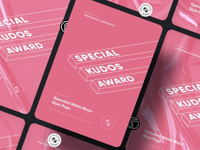 CSSDA Special Kudos Award 2021 css design awards design award css cssda nominee winner certificate special award kudos award special special kudos award special kudos kudos award