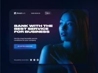 Bank for Business Landing Page