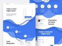 Clean Creative Landing Page