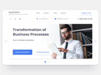 Business Automation Home Screen
