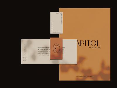 Concept Stationary Design logodesign typography stationary letterhead design branding